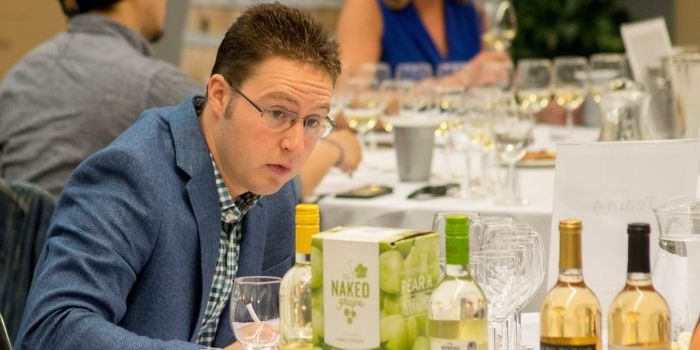 Eric C. Sigmund, Esq., CS, CSW, Total Wines and More wine buyer at the time of Judging.