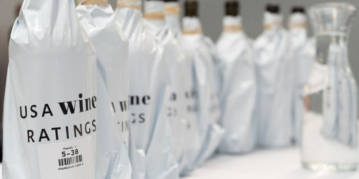 Wines are judged bling for the quality and value, and then packages are shown for the package score.