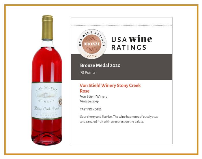 Stony Creek Rosé Shelf talker