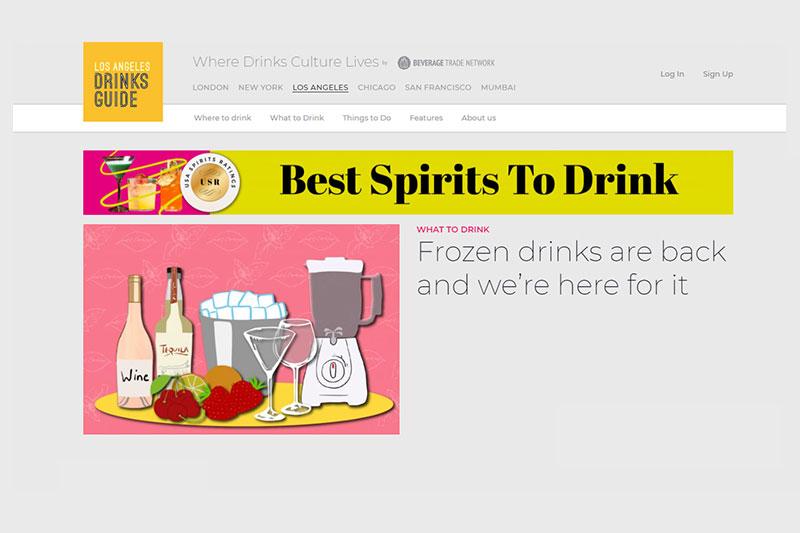 Los Angeles Drinks Guide Homepage