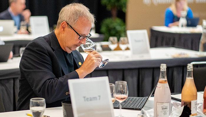 Tim Hanni MW at the 2021 USA Wine Ratings