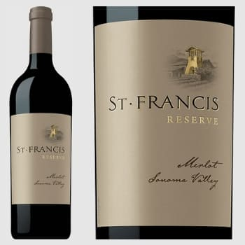 2015 vintage Reserve Merlot Wine of the Year